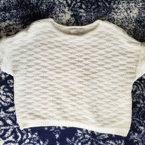 LOFT crop sweater